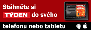 Časopis TÝDEN na telefonech iPhone i tabletech iPad